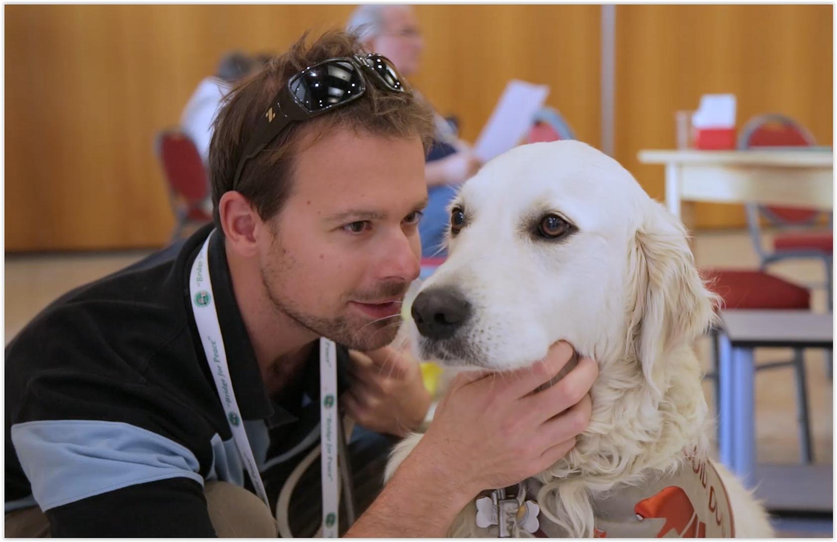 jerome et son chien.JPG