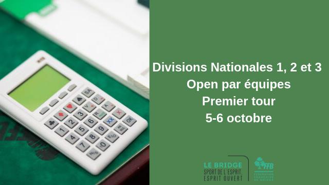 Divisions nationales 1, 2 et 3 Premier tour 5-6 octobre.png